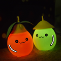 New creative grapefruit pat lamp mini night light USB rechargeable led night light