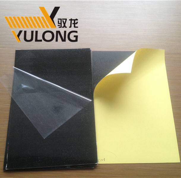 self adhesive PVC album inner sheets sheet for photo book