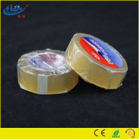 130 mic thickness water proof transparent PVC electrical insulation tape with free samples