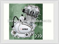 Chinese Cheap Strong Power 125cc Air Cooled Engine For Motorcycles, Dirt Bike, Tricycle For Sale CG125