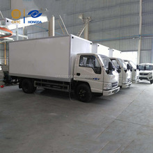 Hot selling Cold Container Truck Cold Delivered cold plate freezer truck