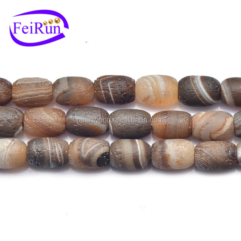 FEIRUN 12.5*17.5mm wholesale price druzy agate electroplated, natural agate slices, gemstone beads bali