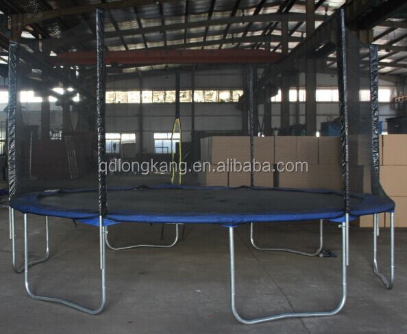 14ft indoor round trampolines with GSD