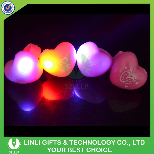 Valentine's Party Glowing Led Heart-Shape Ring
