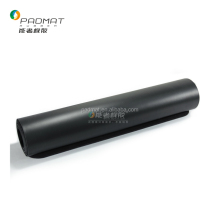 Black color Professional Laser engraving Line position PU rubber yoga mat