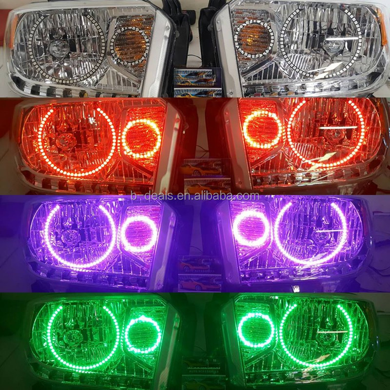 Angel Eyes Halo Headlight Rings Kit For Ford F250 F350 2005-07