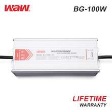 WODE CE ROSH Waterproof 12V 100W Ip67 Electronic Led Driver Dimmable