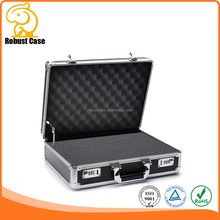 China Manufacturer Silver or Black Aluminum barber Carrying Tool Case
