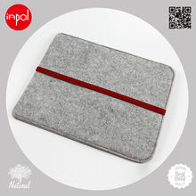 2013 new products for ipad 4 accessories customized wool felt pad case