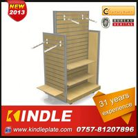 OEM/Custom Metal retail wooden scarf display rack from kindle in Guangdong with 32 Years Experience and High Quality