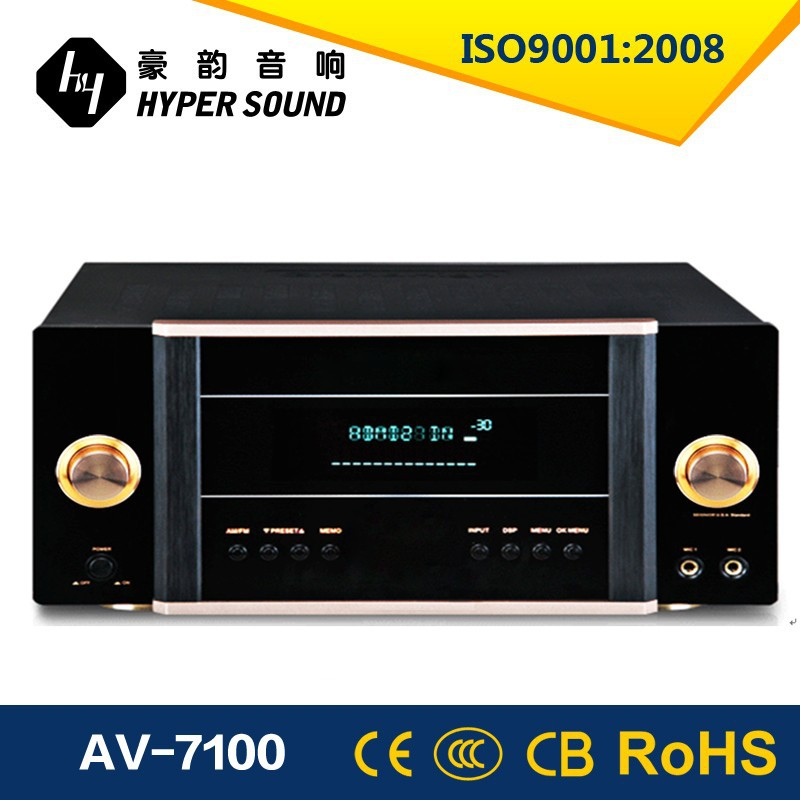 7.1 Channel Amplifier with Wifi Receiver and Optical Coaxial Function