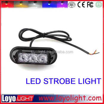 mini led amber warning lightbar for jeep, offroad 4x4, suv, truck light bar