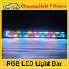 Competitive light 4x4 color changing light bar72W led offroad light bar