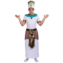 Historical cultural adult men Egyptian Pharaoh Jomy cosplay carnival party costumes