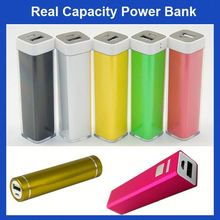FACTORY HOT SALE Lipstick Colorful universal metal case mobile phone power bank