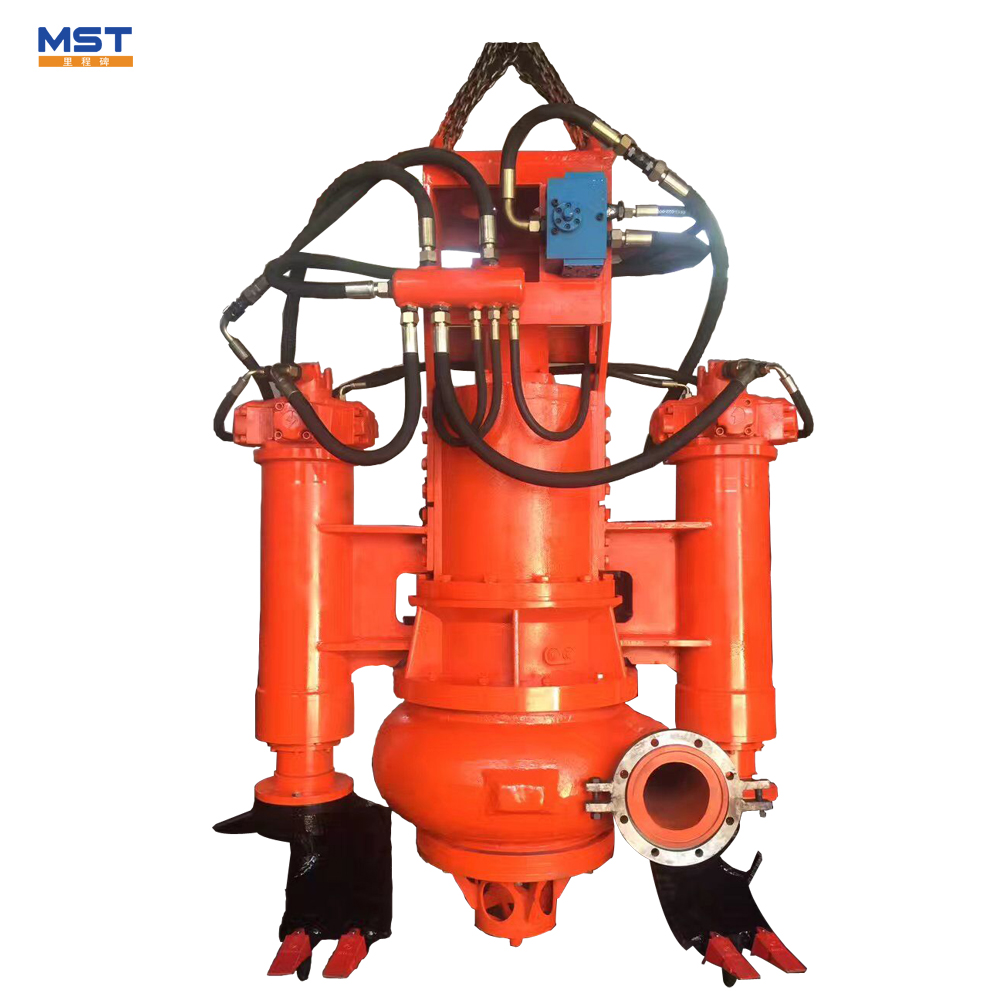 Hydraulic driven centrifugal submersible sand slurry pump