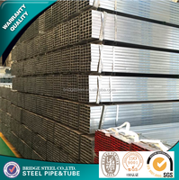 Hot dip galvanized welded hollow section steel pipe weight and price