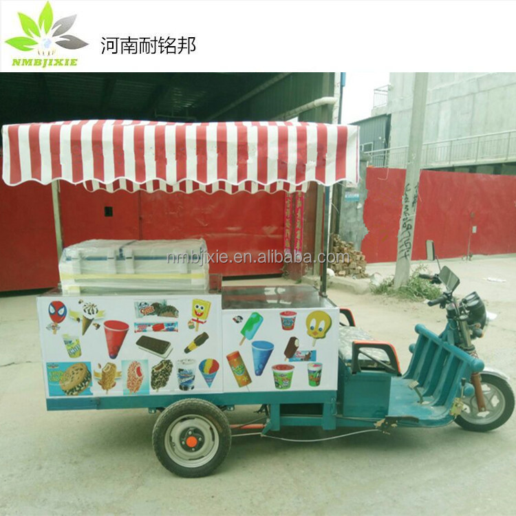 large discount outdoor food kiosk for sale, mobile shop truck, Italian Ice Cream Cart