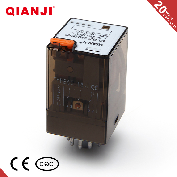 QIANJI 60.13-I 3Z Contact Forms General Purpose Electromagnetic Relay