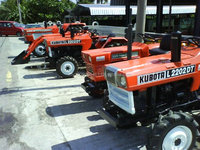 KUBOTA - USED RECONDITION FARM TRACTORS