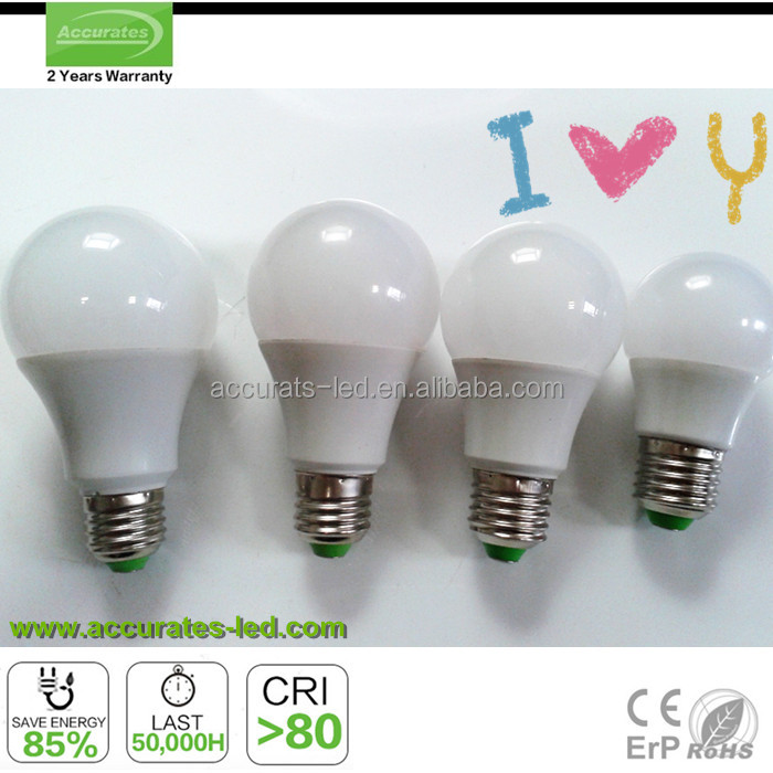 alibaba assured high quality 12W LED Light Bulbs Bayonet b22 or Screw e27 Cool Daylight or Warm Globe