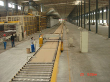 Customizable Proffessional Gypsum Board Making Machines Operation Easily Gypsum Board Production Line