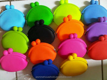 Promotional Fashional Creative and Fancy Silicone Jelly coin purse