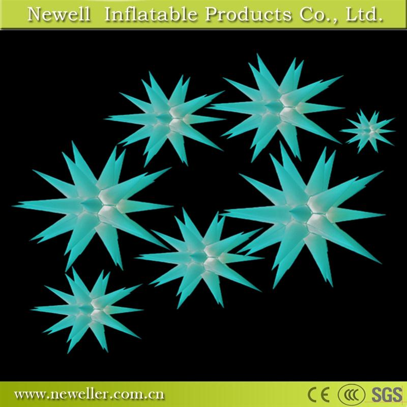 Super quality warehouse inflatable star With OEM logo