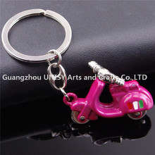 Hot Sale Colorfull Fashion bicycle Custom Metal Keyring.New promotion bicycle keyring