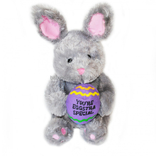 Custom plush stuffed toy rabbit wholesale doll for easter day gifts