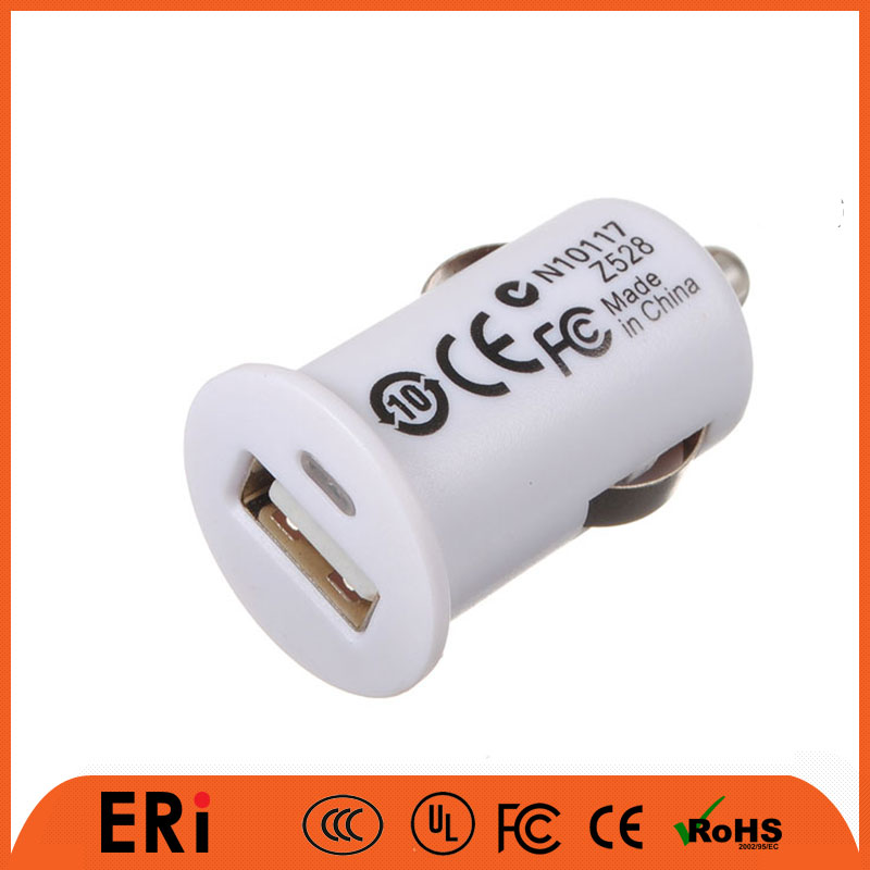Spare for cell phone CE one port usb car charger with 5v 1a output for iPhone