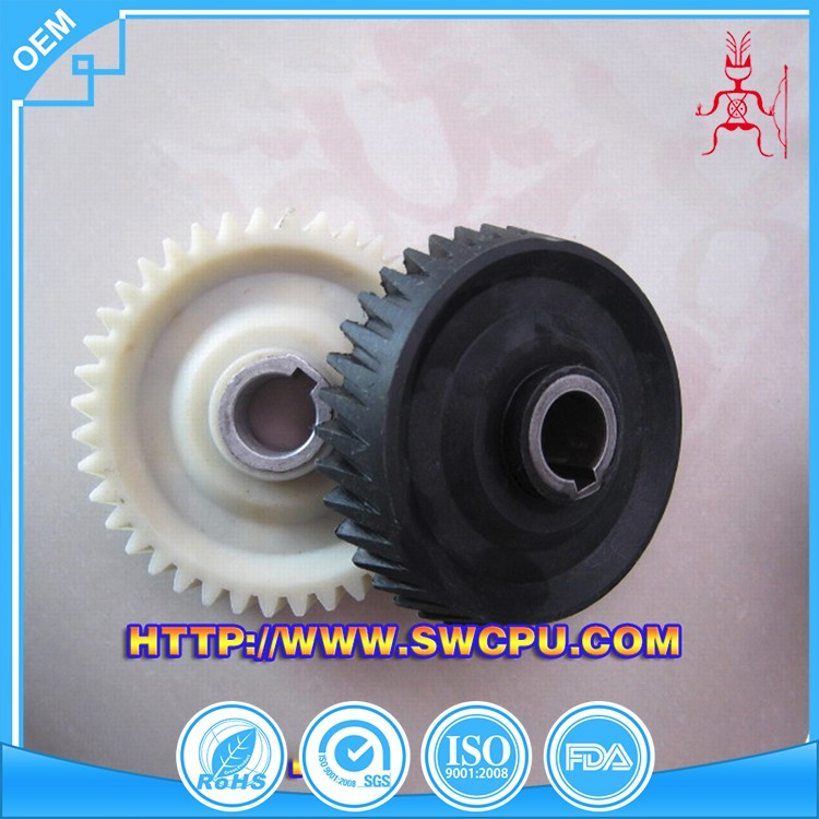 Machined Plastic Crown Wheel Pinion Gear For Transmission