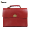 100% Handmade Italian Full Grain Vegetable Tanned Leather Briefcase D200