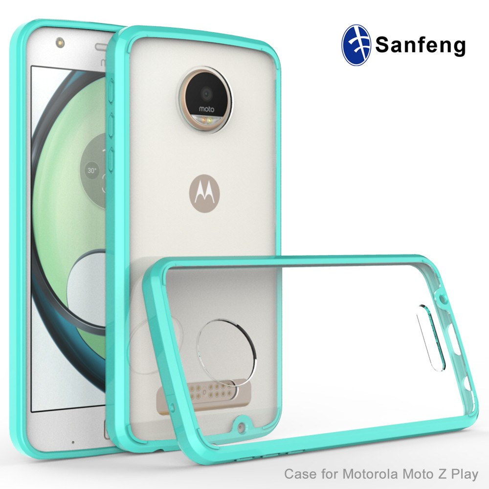 For Amazon Seller Ultra Slim Transparent Mobile Phone Back Cover for Moto Z Play