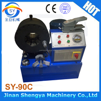 2016 the bewest model SY-90C Hose Swager Pipe Fitting Crimper Hydraulic Hose Crimping Machine