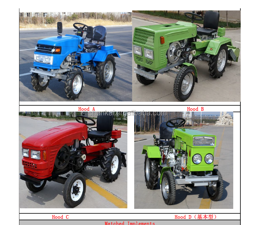 mini tractor factory in china price good perfromance brand new farm machine