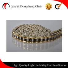 CHINA golden motorcycle chain 428/428H 128 links CC70/100/150 CG125/150 go kart scooter parts roller drive chains