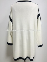 Factory Supplier women long cardigan knitted sweater