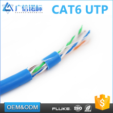 Best products BC or CCA conductor computer networking 23AWG UTP cat6 cable