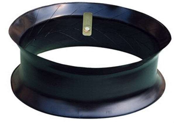 China Top one butyl inner tube manufacture natural flap 17.5-25