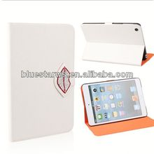 fashion cell phone case for ipad mini 2 pu leather case antique protective leather case