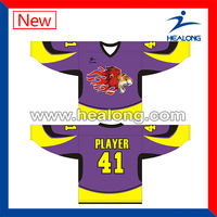 Fashion desgn wholesale ice hockey shirts sale