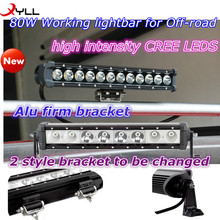 Cheap price 16.3 inch 80W used LED work light bar for Off-road Spot lightbar for SUV and ATV