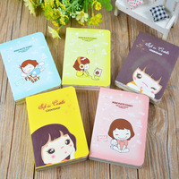 Cooky's Girl Mini Mate Diary Book Organizer Cute Notebook