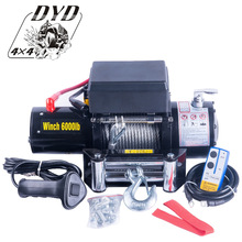 manufacture 4WD 6000lbs 12v electric winch