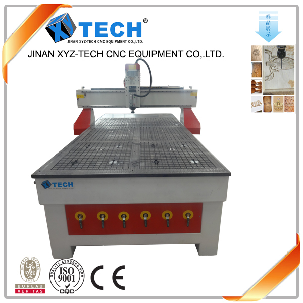 3D woodworking cnc rooter machine with 3kw water cooling spindle