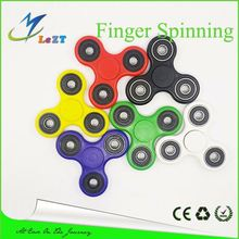 Colorful Metal Fidget Spinner Decompression Finger Toys Wear Resisting Hand Spinners Two Head Spinning Top Relieve Nervous New A