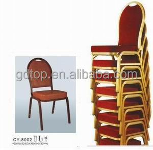 hotel furniture banquet hall used stackable metal banquet chairs for sale