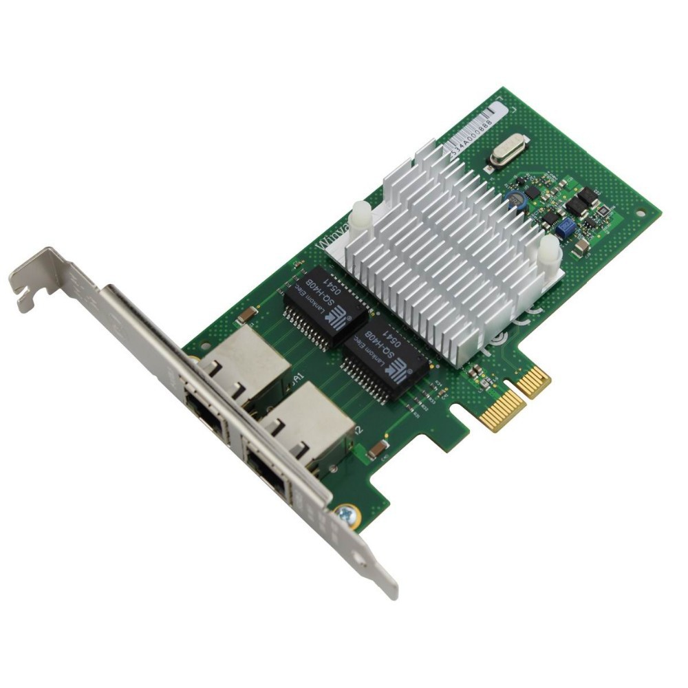 Winyao WYI350T Dual port PCI-e X1 Gigabit Server Adapter-intel I350(I350T2)Network Interface Card