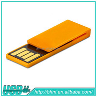 Orange Free Logo Silicone USB Flash Pen Drive
